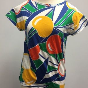 Tops - Egyptian Giza cotton Italian t-shirt blue size M